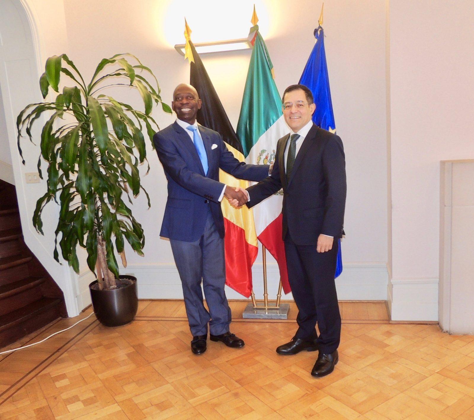 Rencontre avec le Mexique - EMBAJADA DE GUINEA ECUATORIAL