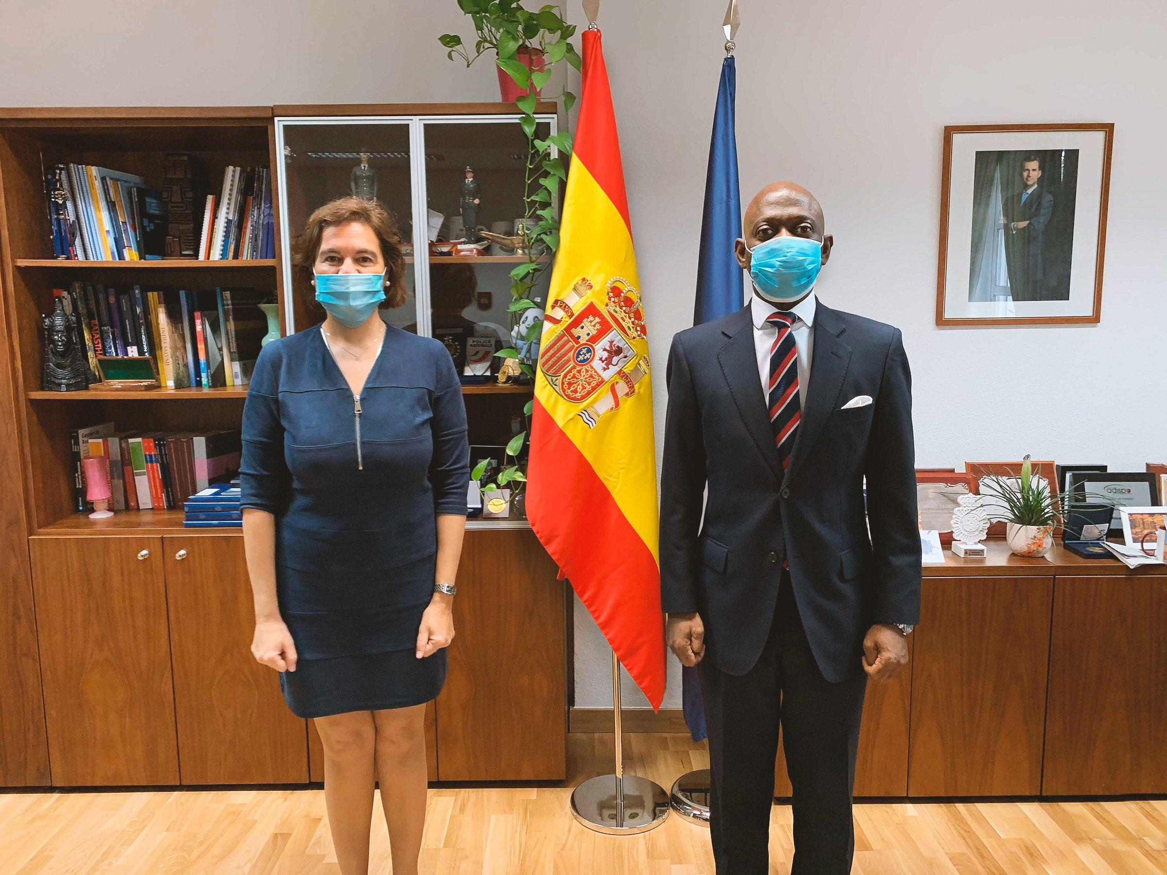 Reunión Interpol Europol España