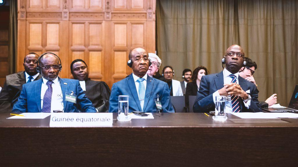 caso Guinea Ecuatorial contra Francia CIJ estrado