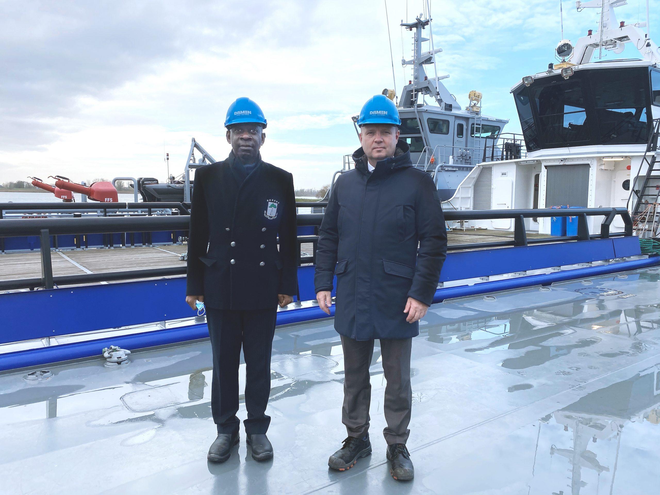 Damen, seguridad marítima de Guinea Ecuatorial