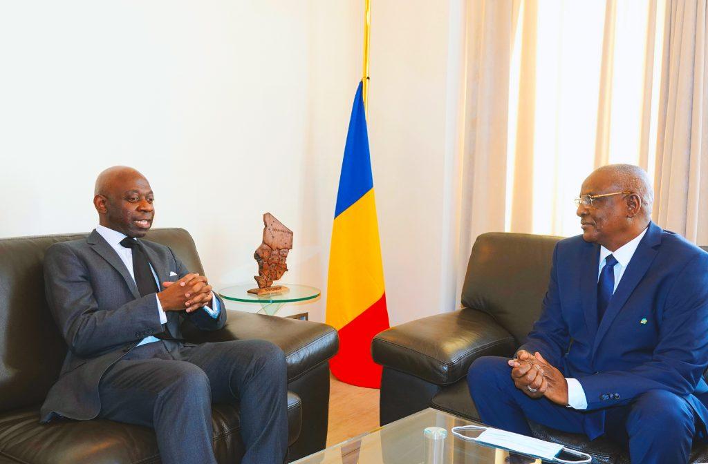 Condolencias a Chad. Embajadores conversan