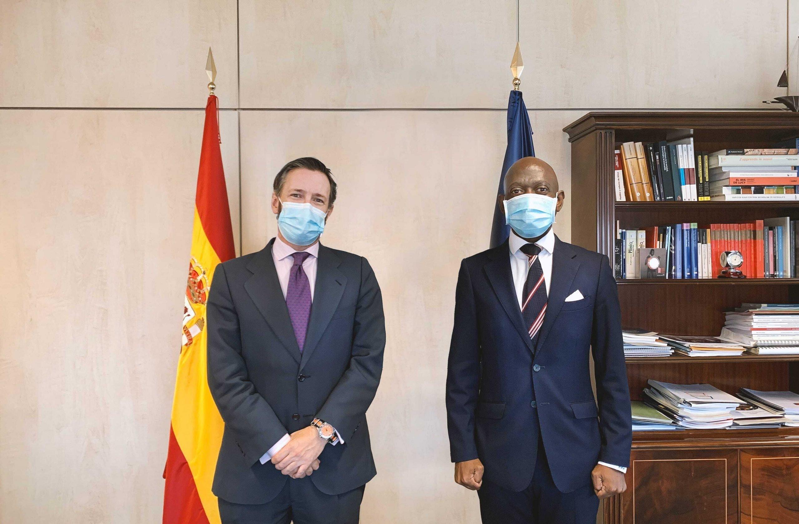 Reunión Ministerio de Asuntos Exteriores de España