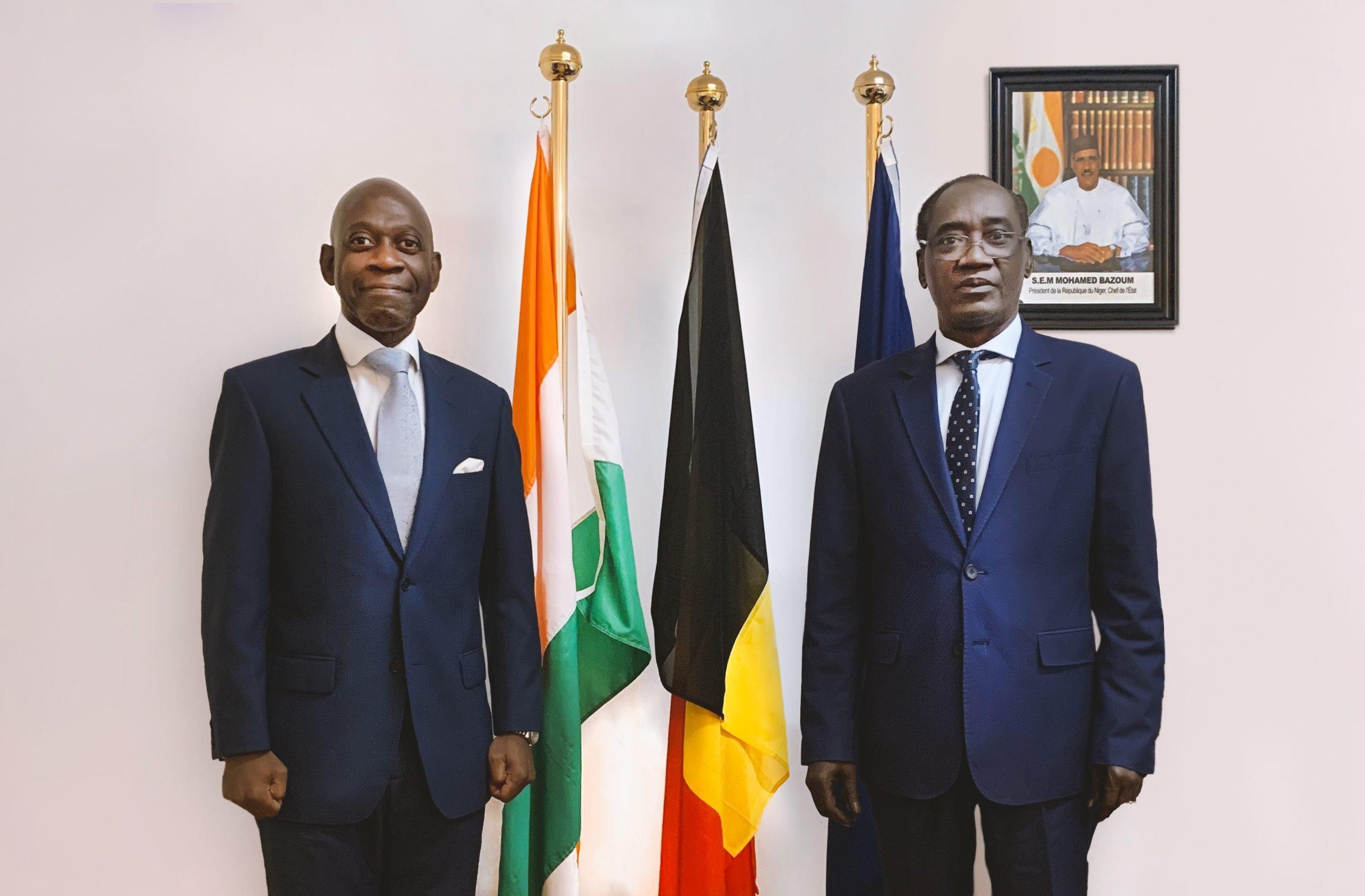 Reunión Embajador Níger