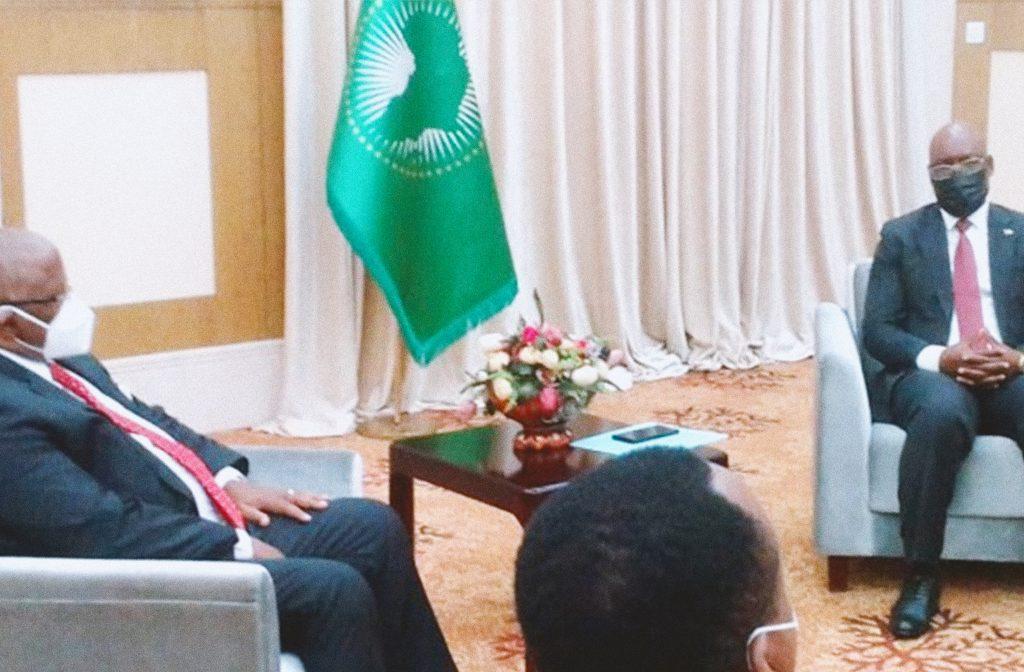 Secretario General de la OEACP y Ministro Exteriores