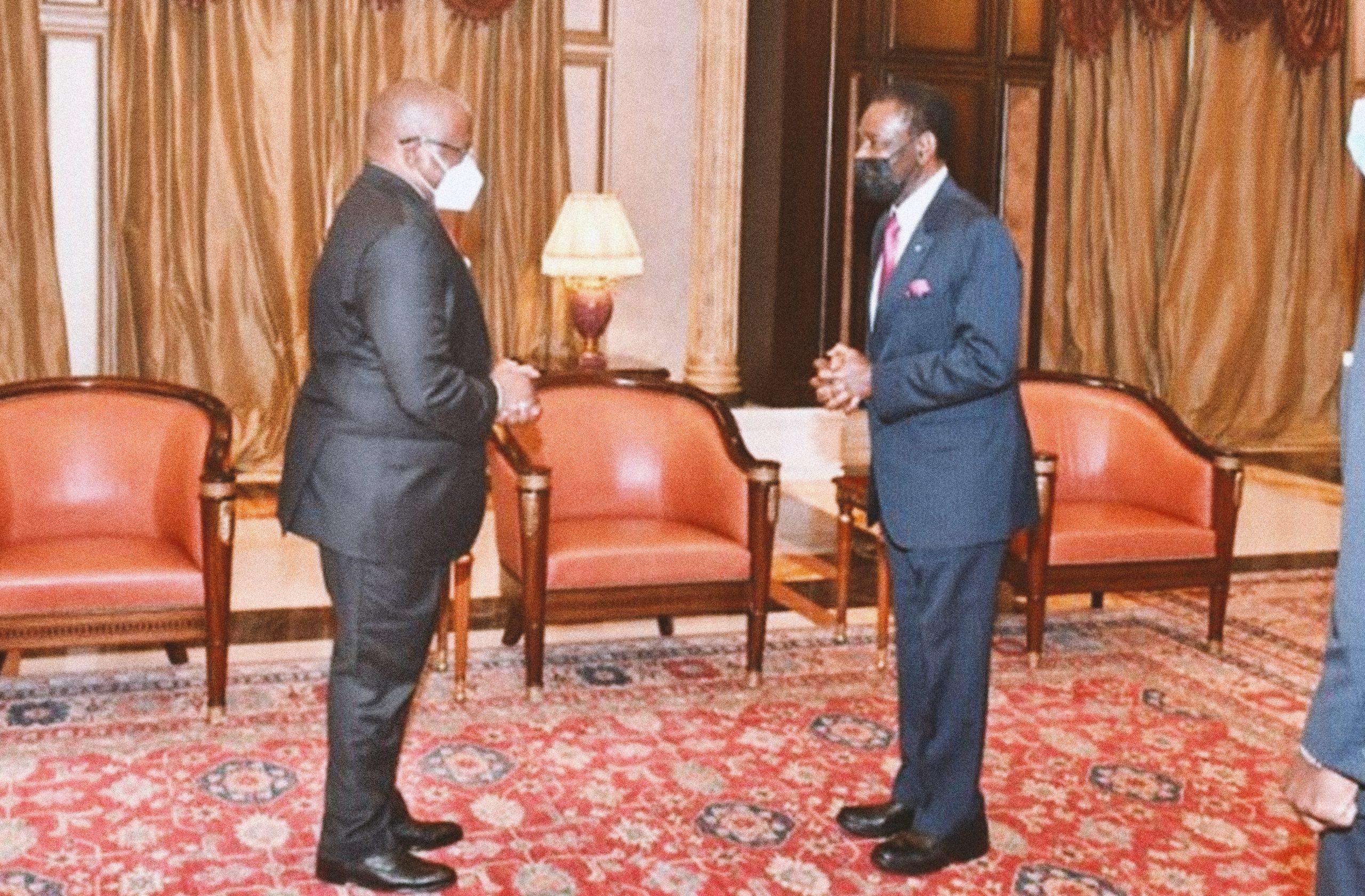 Secretario General de la OEACP y Presidente